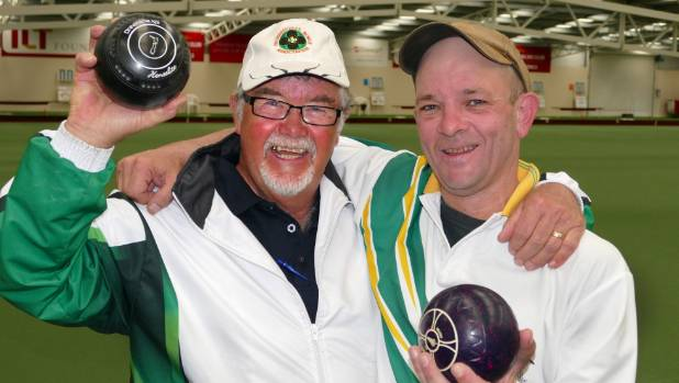 Last year's winners Ken Walker and Paul Calvert